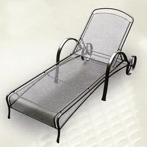 Zahradní nábytek - kovové lehátko