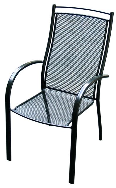 Zahradní nábytek - křeslo ELTON kovová židle