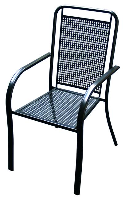 Zahradní nábytek - křeslo SAVANA kovová židle