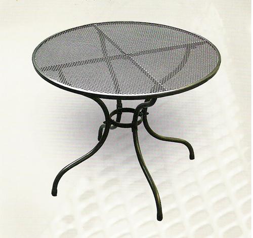 Zahradní nábytek - TAKO kovový stůl 90 cm