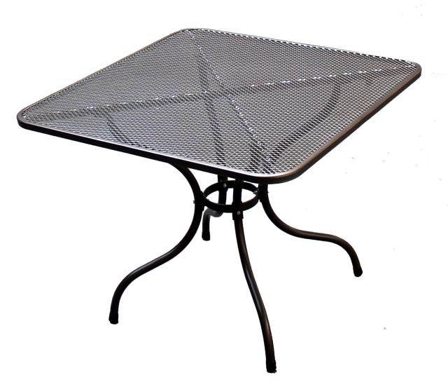 Zahradní nábytek - TAKO kovový stůl 90 x 90 cm