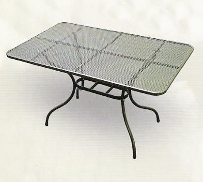 Zahradní nábytek - TAKO kovový stůl 145 x 90 cm