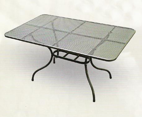 Zahradní nábytek - TAKO kovový stůl 160 x 95 cm