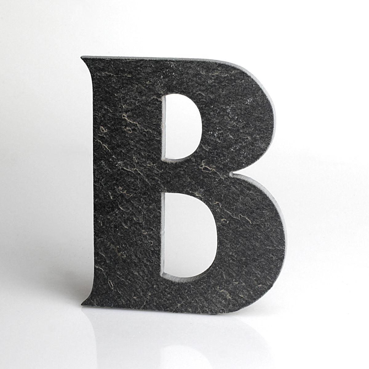 """Domovní číslo popisné Břidlice - písmeno """"B"""""""