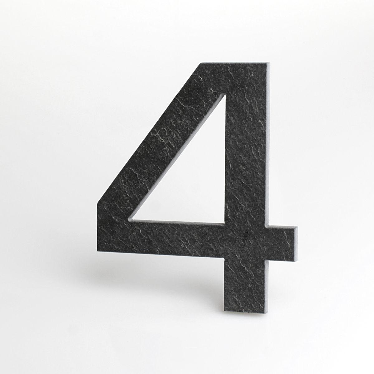 Domovní číslo popisné Břidlice EUROMODE - č. 4