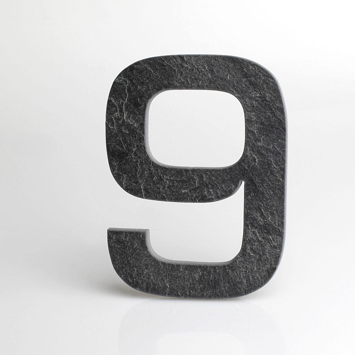 Domovní číslo popisné Břidlice EUROMODE - č. 9