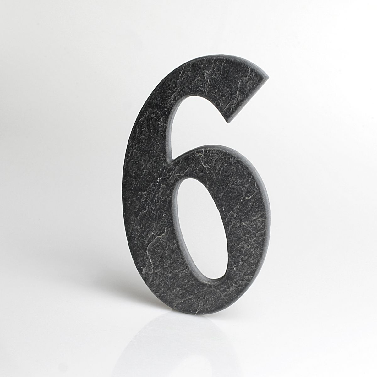 Domovní číslo popisné Břidlice BELWE - č. 6
