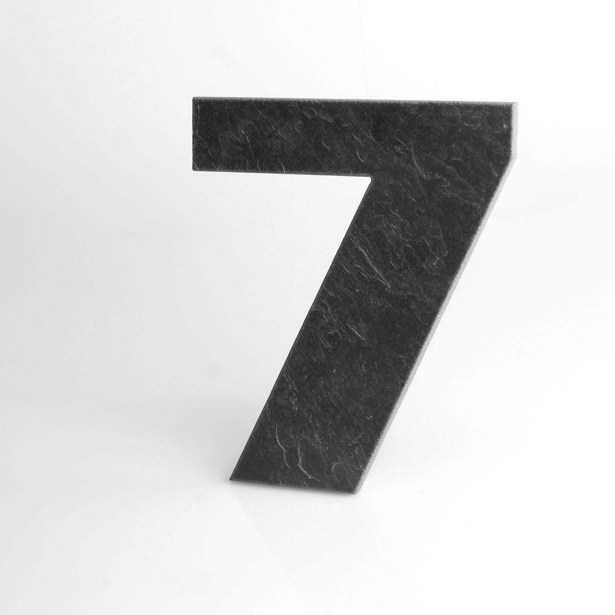 Domovní číslo popisné Břidlice LILY - č. 7