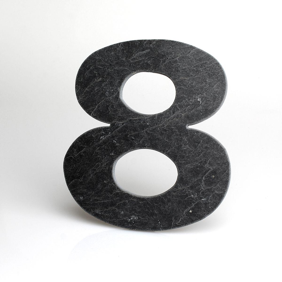 Domovní číslo popisné Břidlice LILY - č. 8