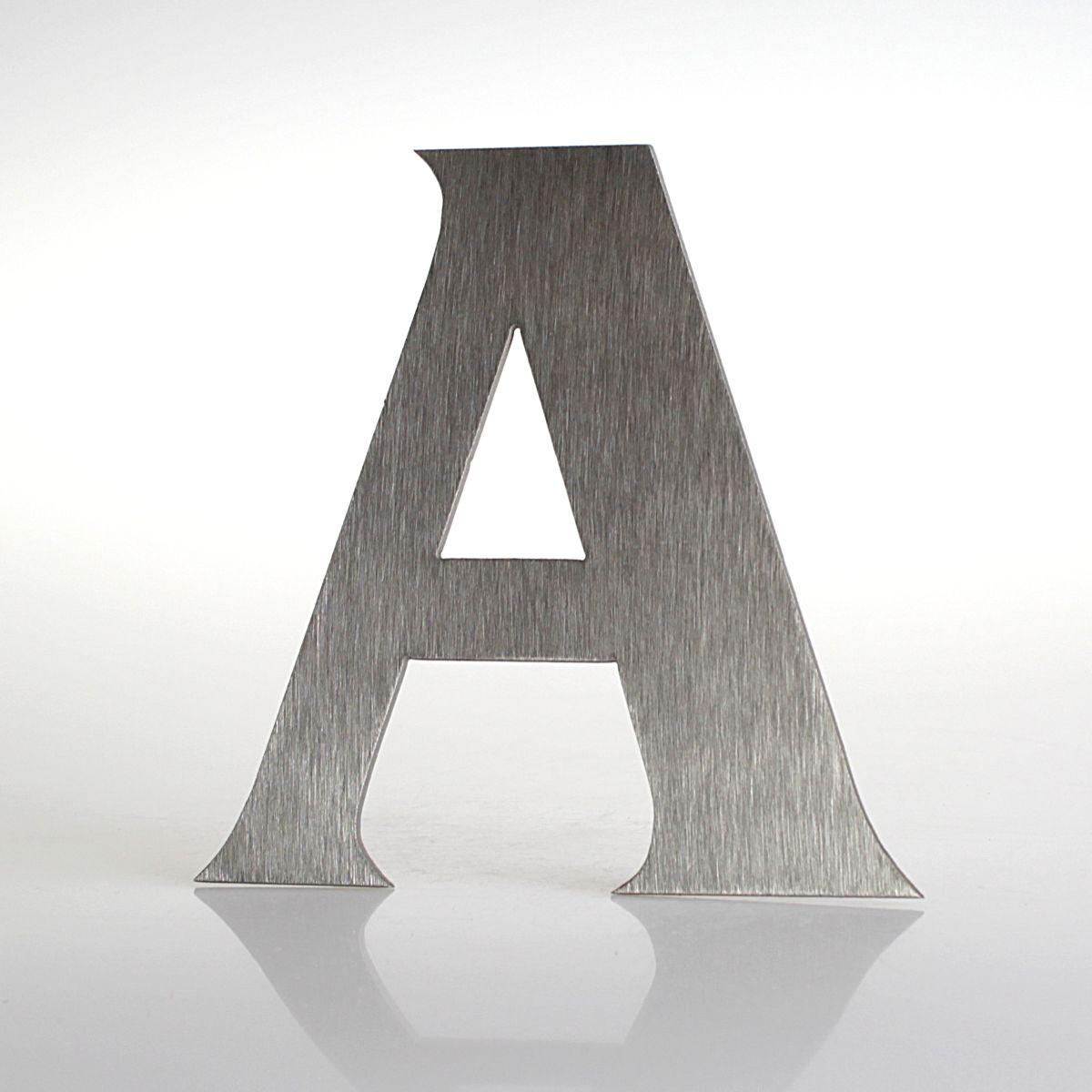 """Domovní číslo popisné Nerez FRANCE - písmeno """"A"""""""