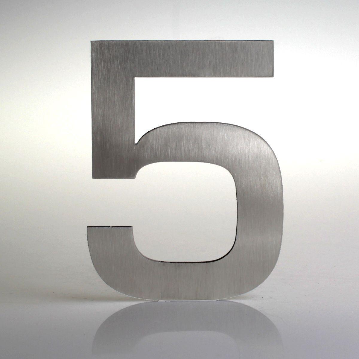 Domovní číslo popisné Nerez EUROMODE - č. 5