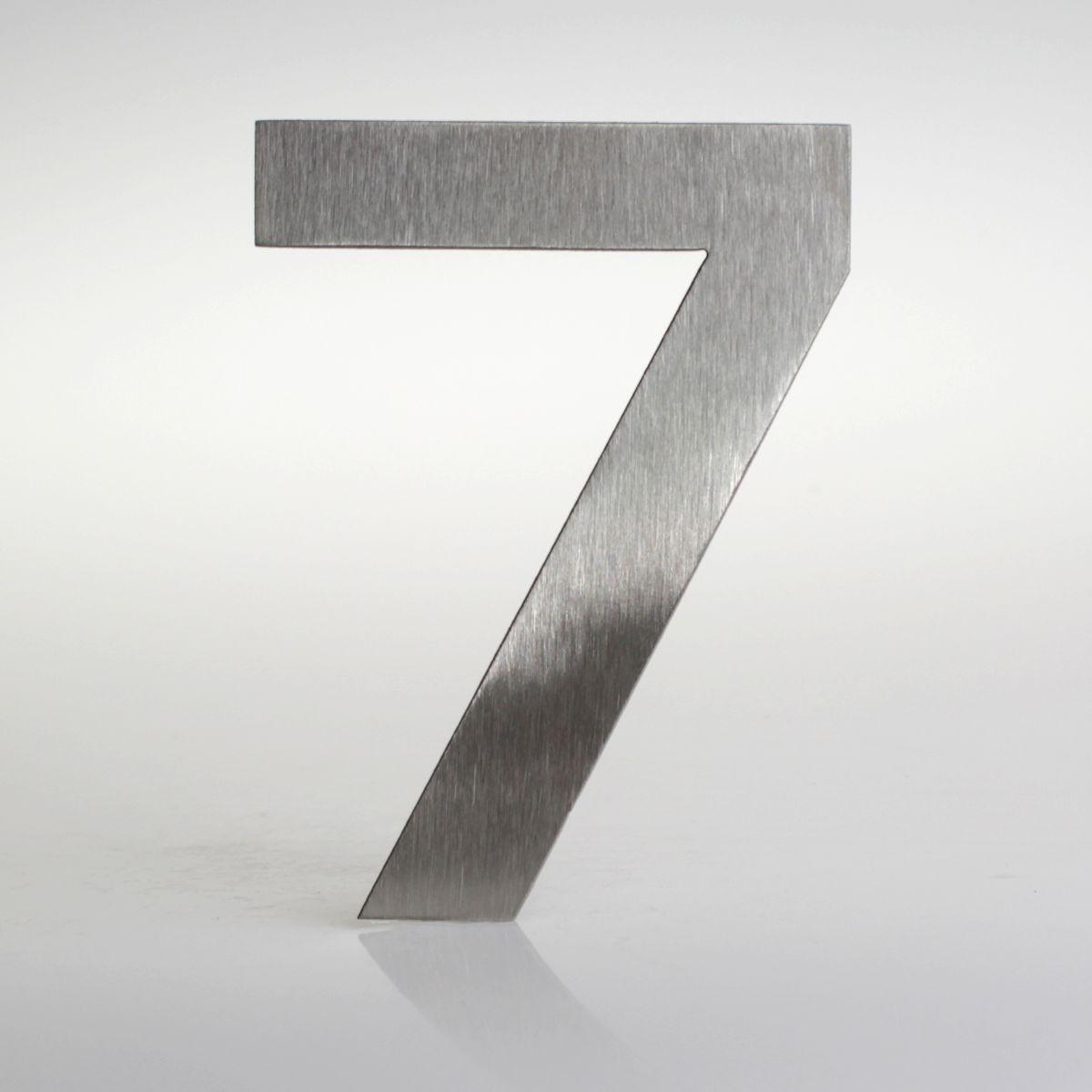 Domovní číslo popisné Nerez EUROMODE - č. 7