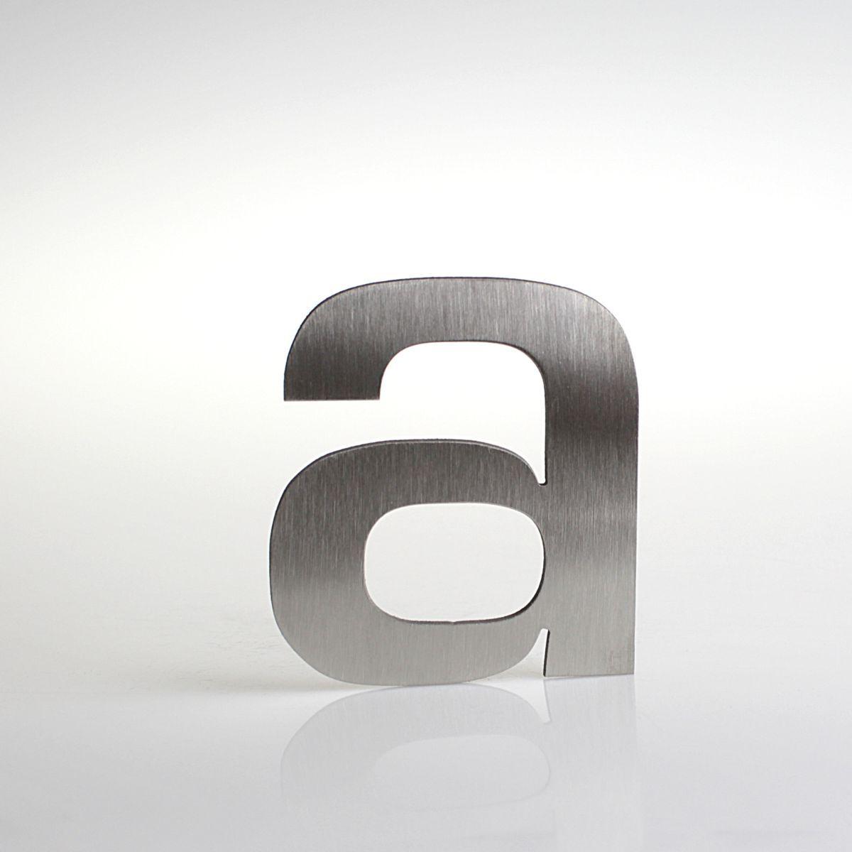"""Domovní číslo popisné Nerez EUROMODE písmeno """"a"""""""
