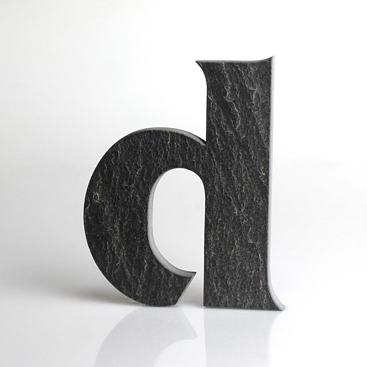 """Domovní číslo popisné Břidlice - písmeno """"d"""""""