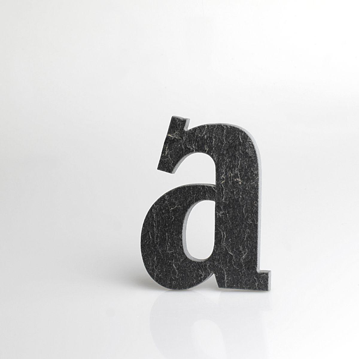 """Domovní číslo popisné Břidlice BELWE - písmeno """"a"""""""