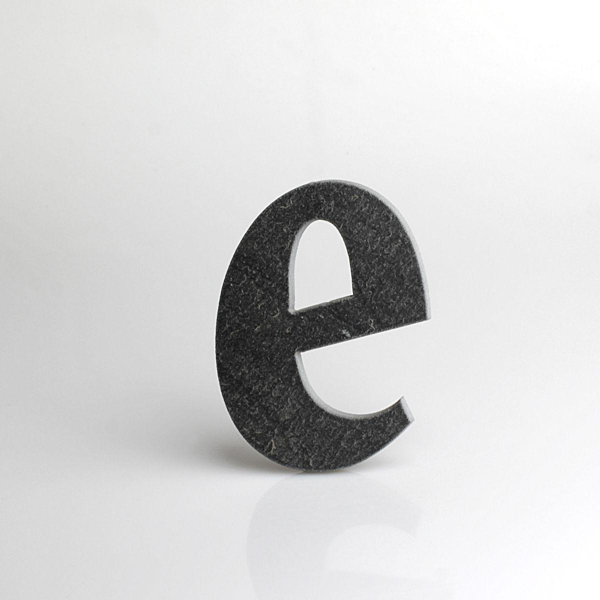 """omovní číslo popisné Břidlice BELWE - písmeno """"e"""