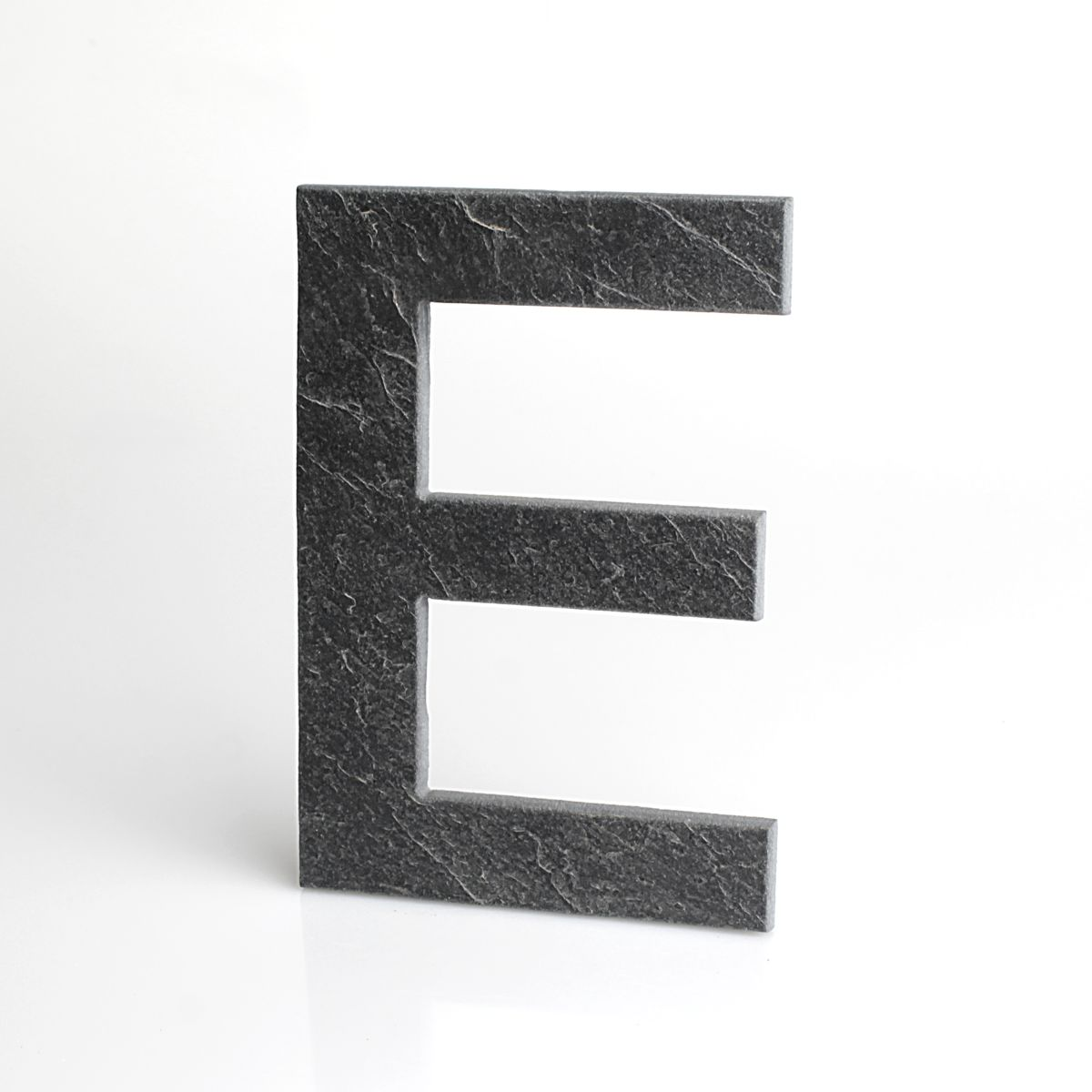 """Domovní číslo popisné Břidlice EUROMODE - písmeno """"E"""""""