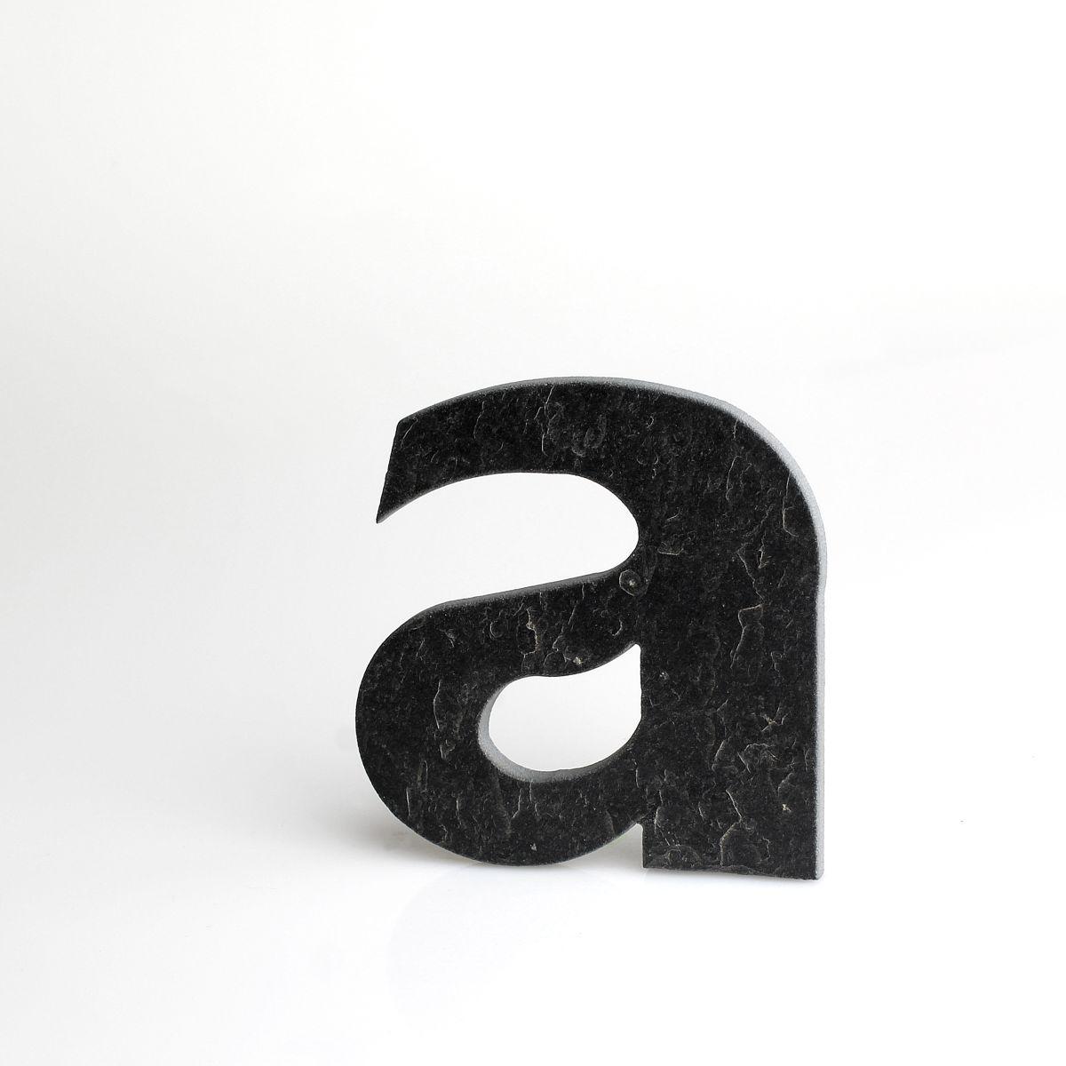 """Domovní číslo popisné Břidlice LILY - písmeno """"a"""""""