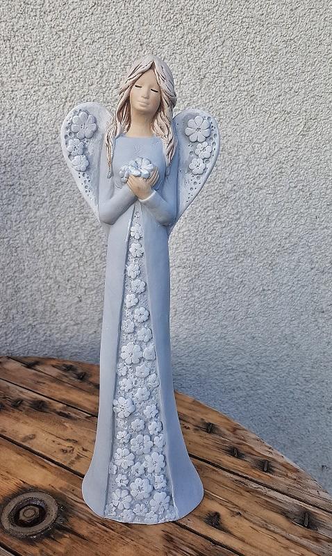 Andělka IDA - šedá
