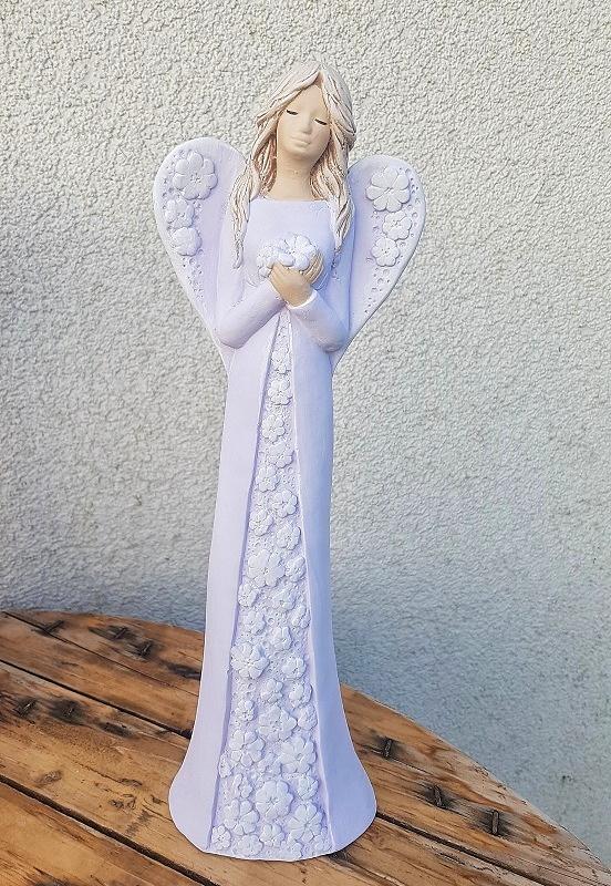 Andělka IDA - fialová