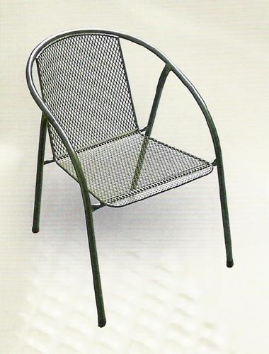 Zahradní nábytek - křeslo IRIS kovová židle