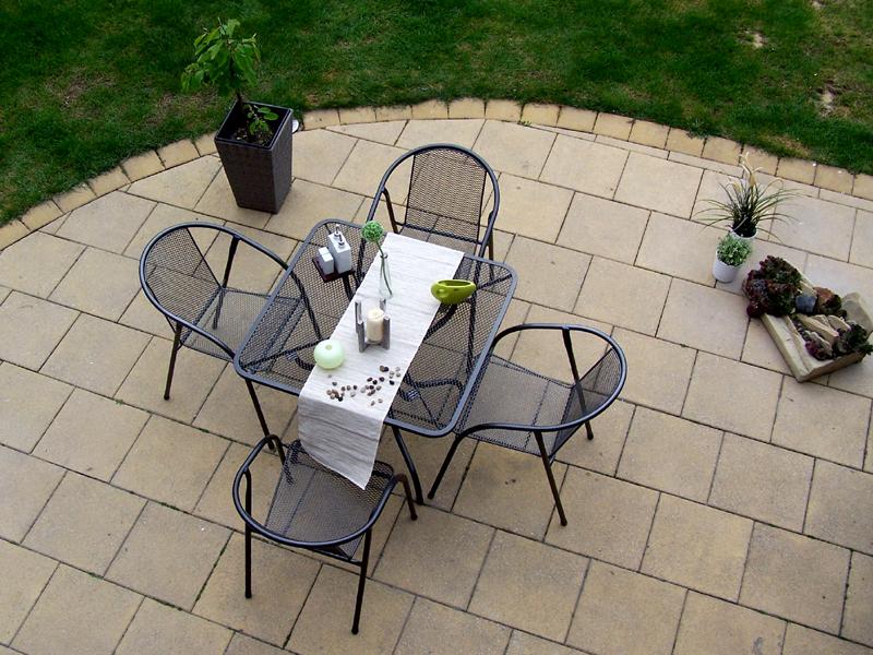 Zahradní kovová sestava IRIS 1+4 TAKO 90x90