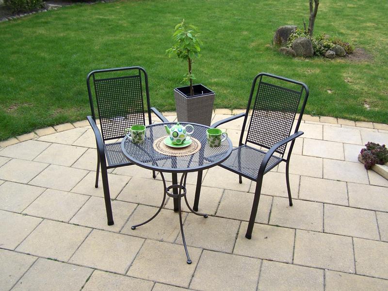 Zahradní kovová balkonová sestava SAVANA 1+2 TAKO 70