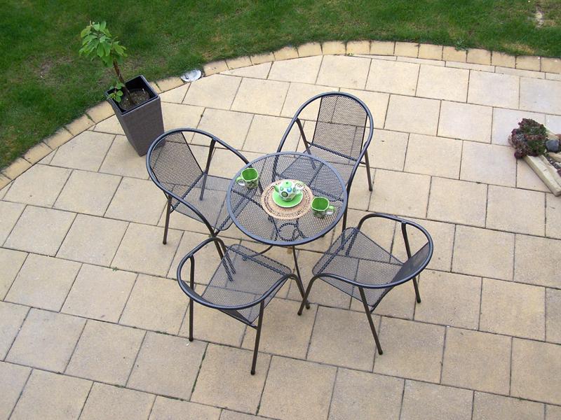 Zahradní kovová balkonová sestava IRIS 1+4 TAKO 70