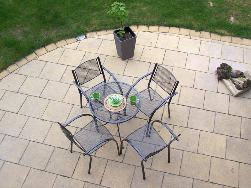 Zahradní kovová balkonová sestava MILANO 1+4 TAKO 70