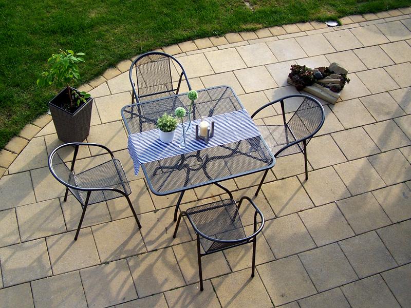 Zahradní kovová sestava IRIS 1+4 TAKO 105x105
