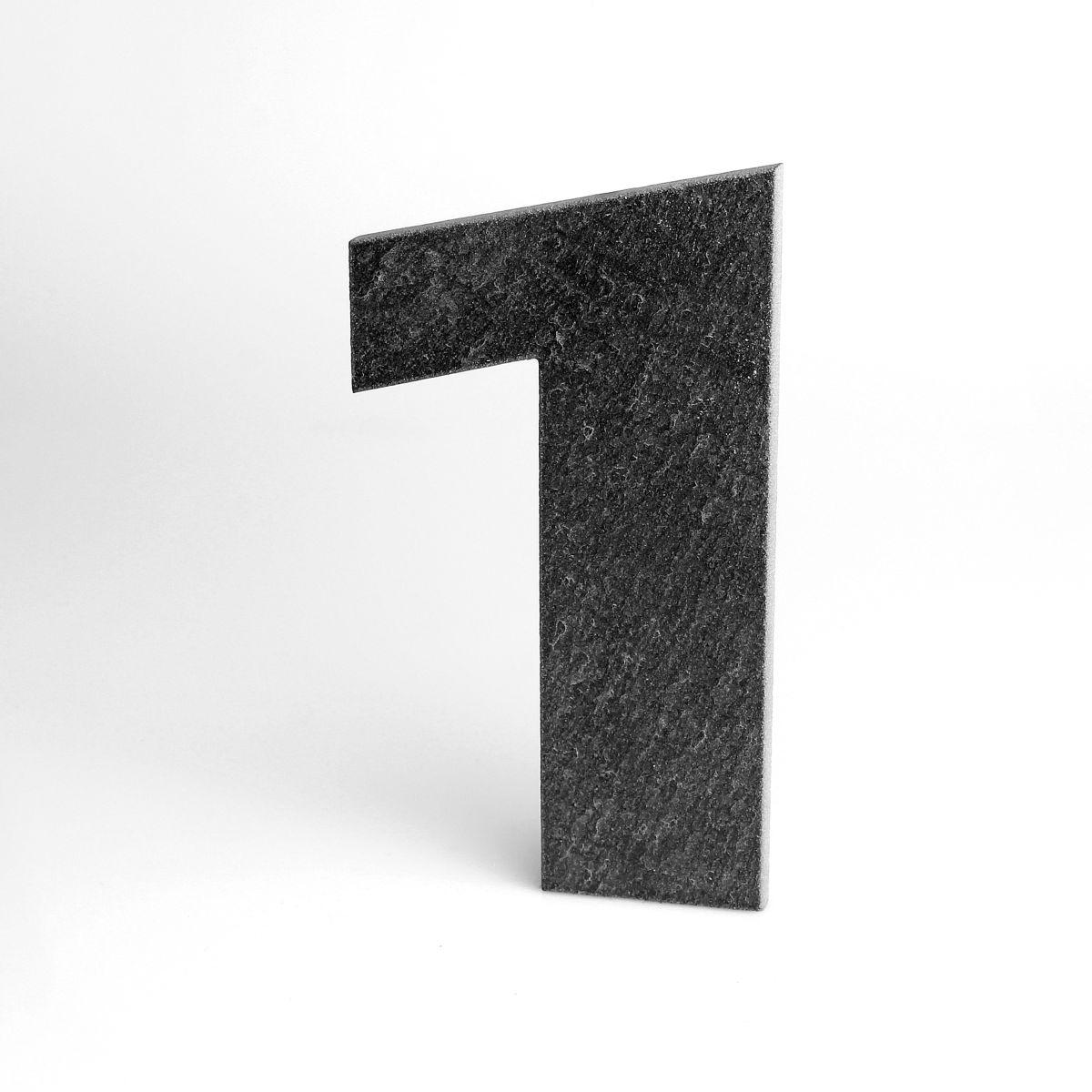 Domovní číslo popisné Břidlice LILY - č. 1